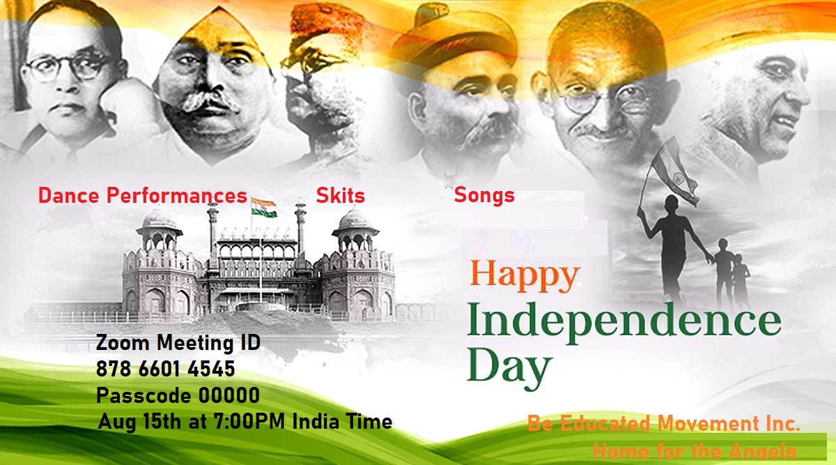 Home for Angels Preparing India Independence day show