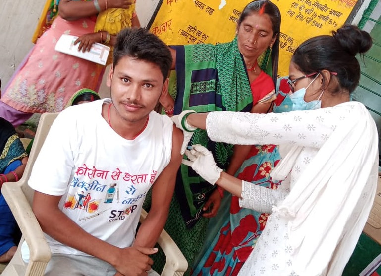 COVID-19 and Vaccine Awareness Camp Organized at Over 50 Locations