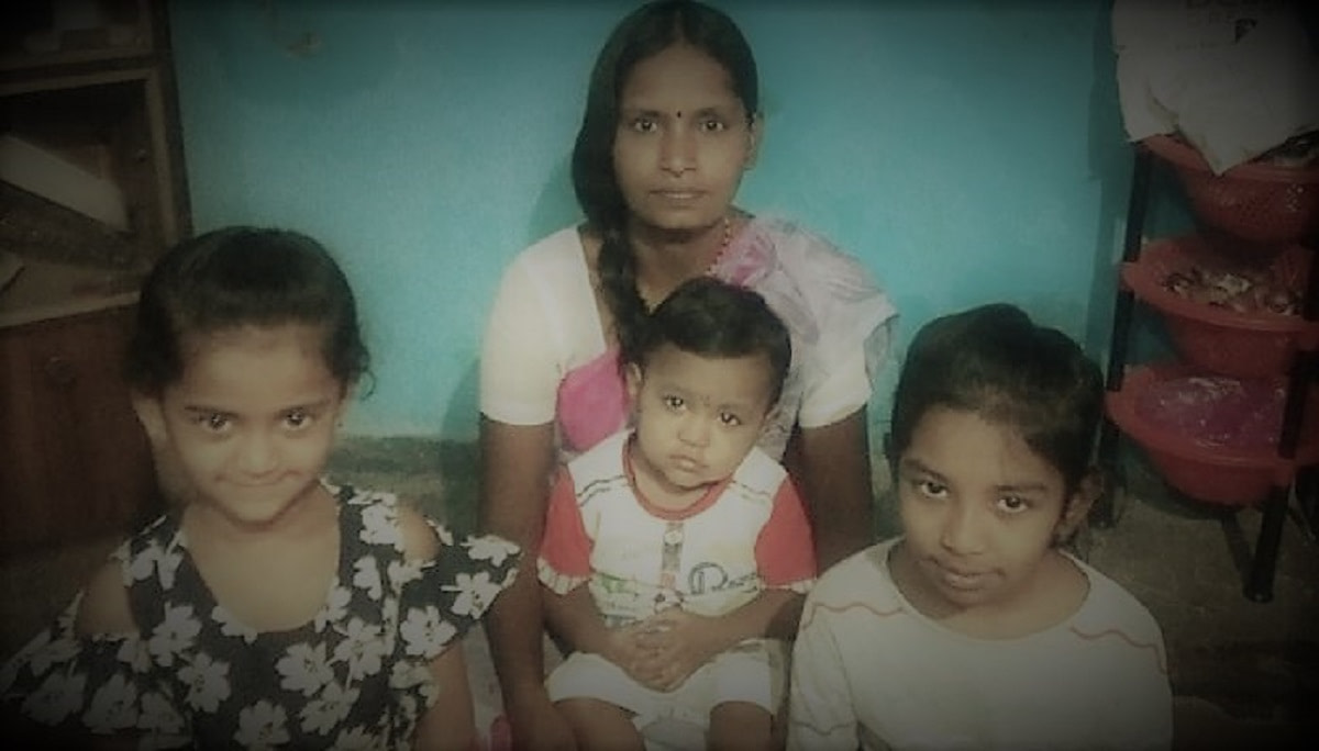 Anjali Needs Support for her two Children
