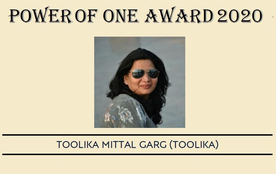 Toolika receives Power of Award for year 2020